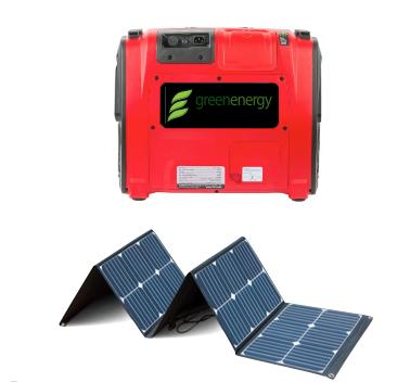 Off Grid Solar Lithium Generator 1.5KW